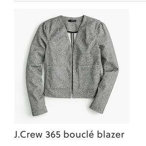 NWOT J Crew Bouclé blazer